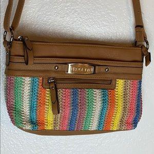 Rossetti Rainbow Hand Bag/Body Cross Purse